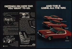 1974 plymouth road runner cuda duster 360 muscle cars barracuda vintage ad ebay. Black Bedroom Furniture Sets. Home Design Ideas