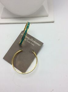 Image Is Loading 58 Tommy Bahamas Hibiscus Enamel Hoop Earrings Tb10