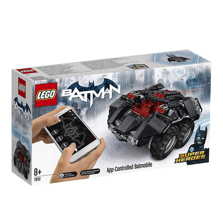 LEGO DC Super Hero 76112 App-Gesteuertes Batmobile NEUHEIT 2018 OVP-
