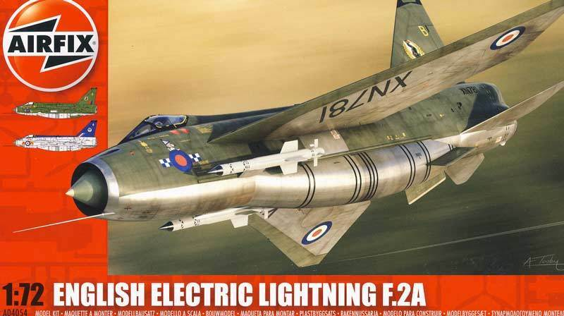 Airfix Ee English Electric Lightning F2 for 2A 2 a Model Kit 1 72 Nip Set