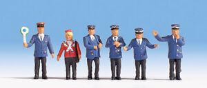 NOCH-45265-TT-Figurines-1-120-Employes-ferroviaires-neuf-emballage-d-039-origine
