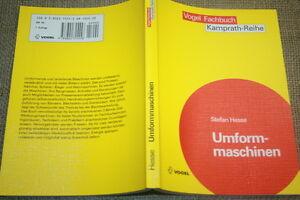 Fachbuch-Umformmaschinen-Umformtechnik-Pressen-Blechbearbeitungsmaschinen