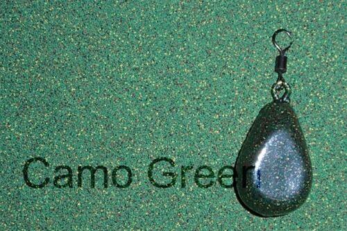 Carp fishing Lead coating powders Camo Brown Green Army 250g and 500g packs