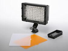 Pro LED video light for Sony PMW-100 HXR-NX30 Panasonic AG-AC130A AC160A HD