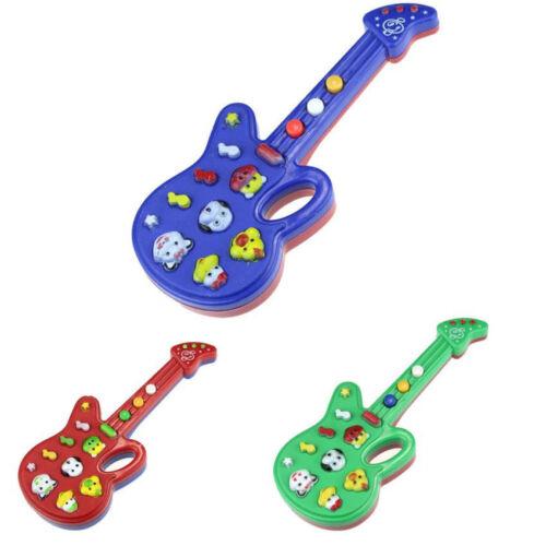 Cute Cartoon Guitar Animal Electronic Guitar Toy Nursery Rhyme Music Children