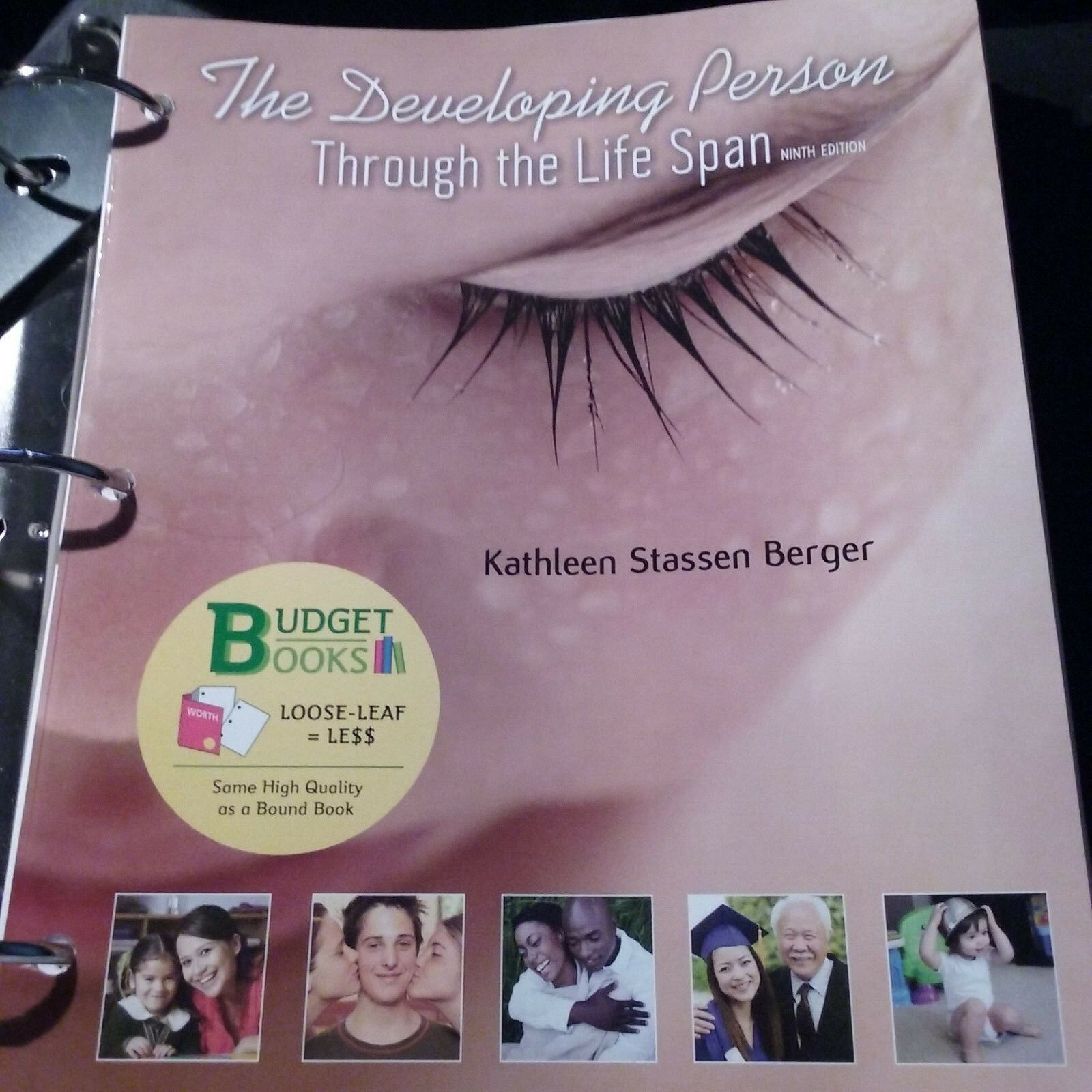 Developing Person Through The Life Span By Kathleen Stassen Berger
