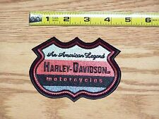 Small American Legend HARLEY DAVIDSON MOTORCYCLES jacket vest Embroidered Patch
