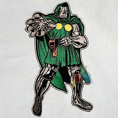Black Panther Embroidered Big Patch Avengers Marvel Comic Fantastic Four Back