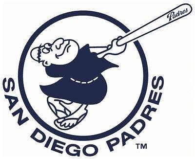 San Diego Padres #7 MLB Team Logo Vinyl Decal Sticker Car Window Wall Cornhole