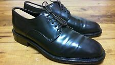 CABLE & CO LEATHER OXFORDS,DRESS SHOES size 11 D, Brown,mint Rv MADE IN ITALY