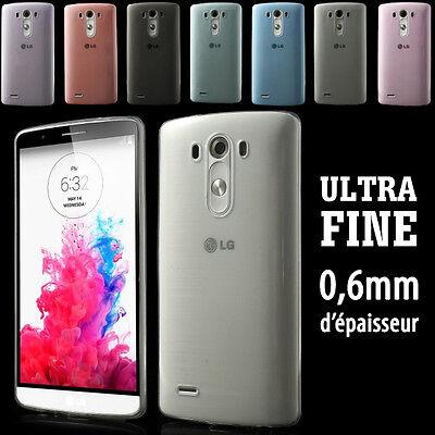 Housse Etui Coque de protection souple silicone case funda ULTRA FINE pour LG G3