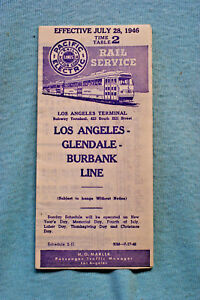Pacific-Electric-Pocket-Time-Table-2-Glendale-Burbank-7-28-46