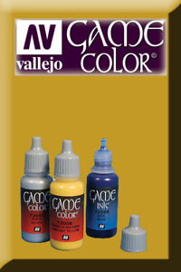 Game Color Polished Gold 72055 Acrylic Paint Vallejo