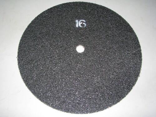 10 x Doppel-Schleifscheibe 406 mm Siliciumcarbid Korn 16 doppelseitig Loch 25