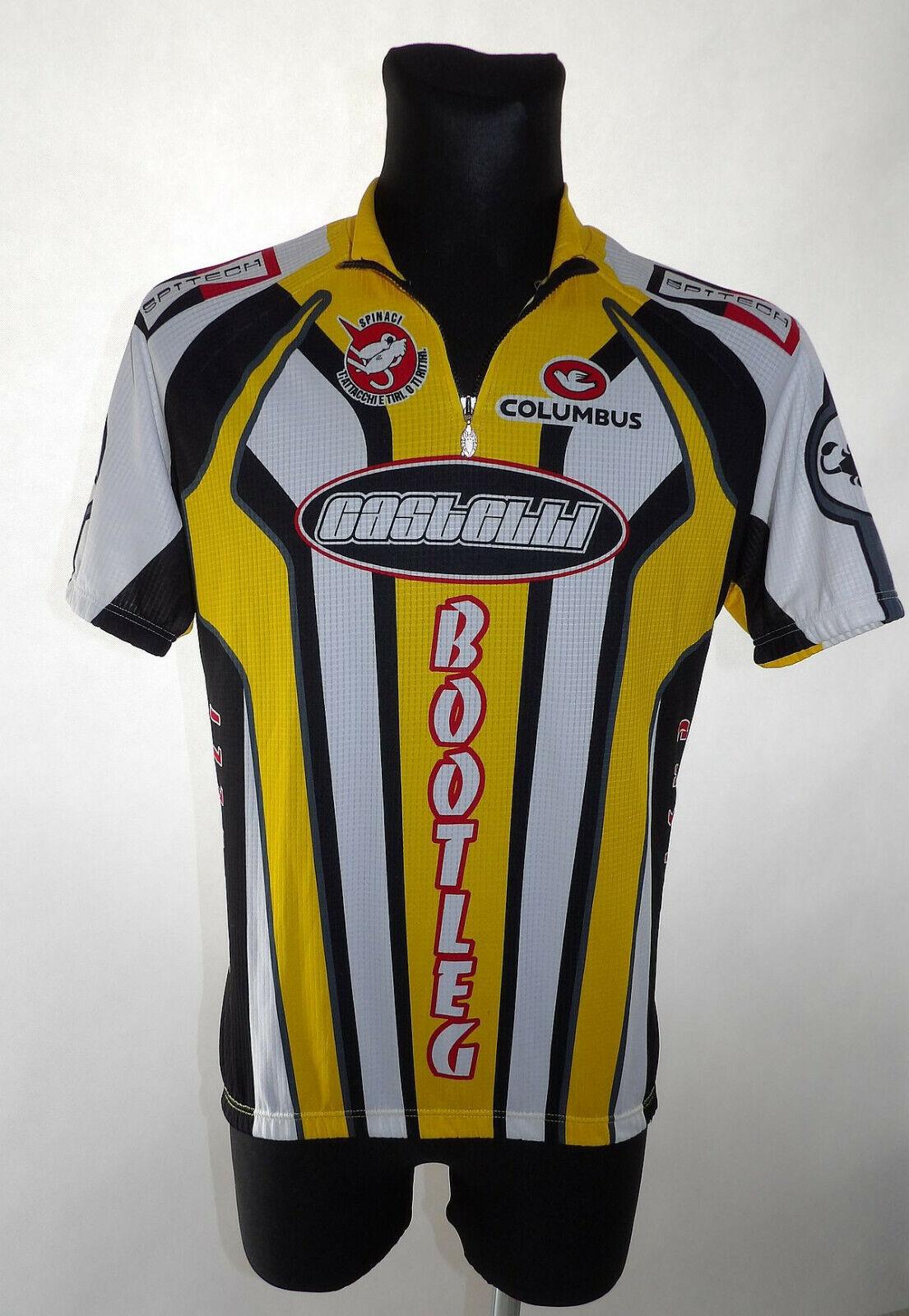 Calumbus Bootleg  XL  Castelli Maglia Cycling Shirt Trikot Jersey