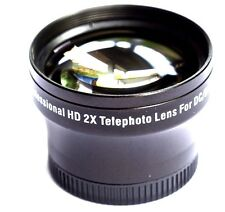 PRO HD 2x TELEPHOTO LENS FOR OLYMPUS E-P3 EP3 E-PM1 EPM1