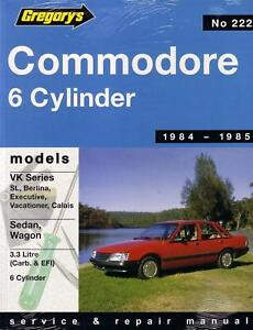 gregorys workshop repair manual holden commodore vk ebay rh ebay com au Holden VK Commodore Wagon VK Holden Calais