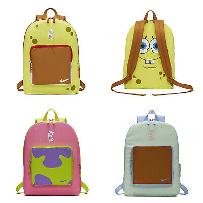 informal mitología llave inglesa  Nike Kyrie SpongeBob SquarePants Patrick Star Squidward Tentacles Backpack  Bag | eBay