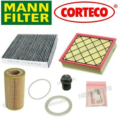 Includes Drain Plug Seal FREE Fits 2004 TO 2011 S40 Genuine Volvo Oil Filter