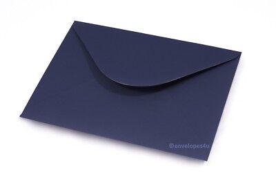 Premium Navy C6 A6 114x162mm Envelopes 120gsm Diamond Flap Invitation Wedding