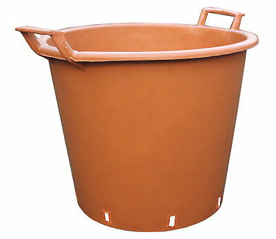 TERRACOTTA Large Plant Pot Tree Planter WITH HANDLES Garden Container 3 Sizes