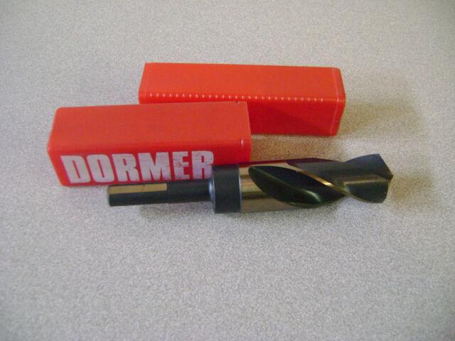 "Dormer HSS 3//8/"" Morse Taper Shank MT1 Drill D1523"
