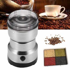 Elektrisch Kaffeemühle Kaffemühle Zerkleinerer Espressomühl Kaffee Nuss 220W DE
