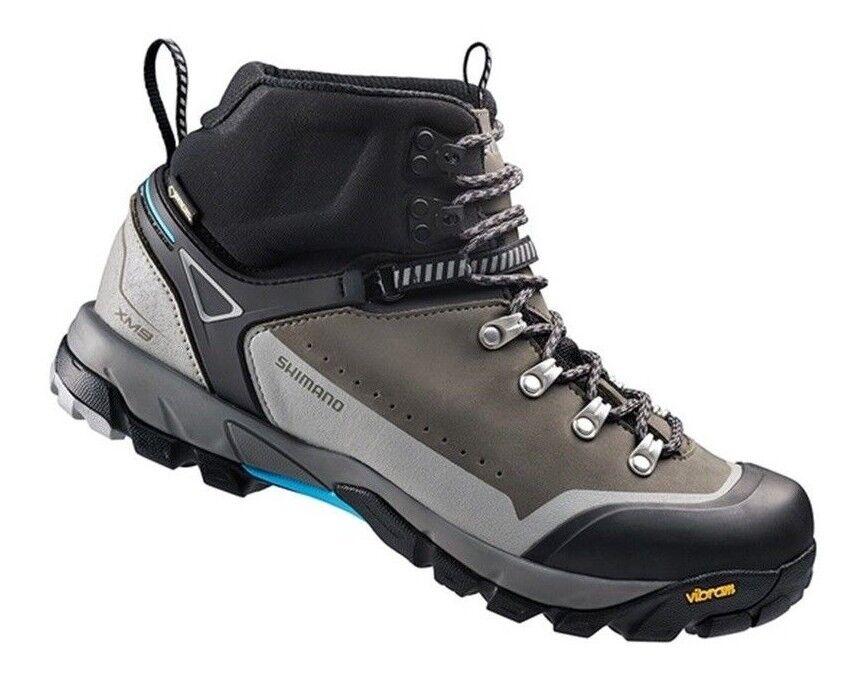 Shimano SH-XM9 para hombre Explorer Cruz De Montaña Gore-Tex Impermeable Zapatos De Bicicleta