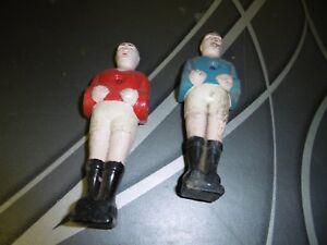 2 Anciens Joueurs De Baby Foot - En Plastique