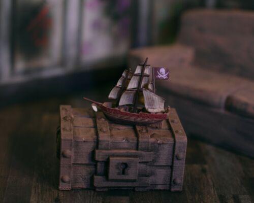 Marvel Legends 1//12 NECA Miniature Boat//Ship ACCESSORY ONLY Mezo