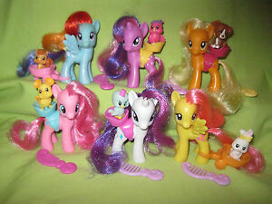 G4 My Little Pony 2010 Wave 1 Singles THE MANE SIX LOT & Animal Friends COMPLETE