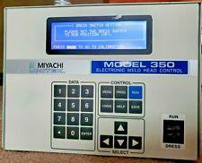 Unitek Miyachi Model 350 Weld Head Control Controller Model 2 302 03