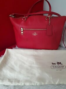 Authentic-Coach-2-Way-Leather-Bag