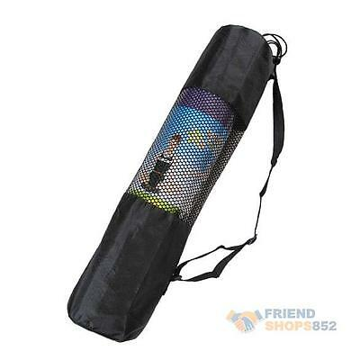 Adjustable Strap Nylon Yoga Mat Carrier Bag Mesh Center