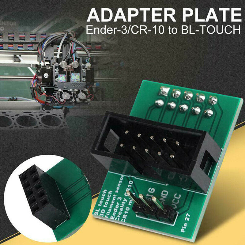 3D Printer Accessories For Touch Adapter Plate For CR-10 / Ender 3 Pin 27 BZZIT