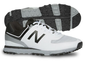 New-Balance-NBG518WK-Golf-Shoes-Mens-White-Black-Grey-Lightweight-New
