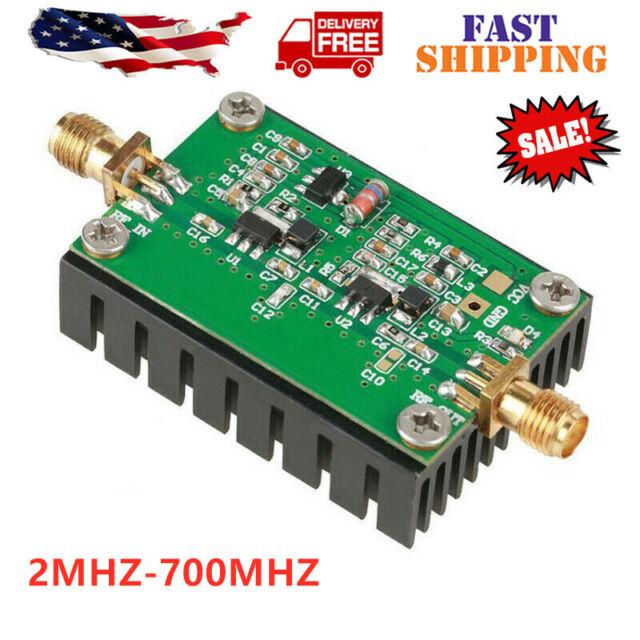 8W 8V 39dB 400-460MHz 433Mhz HF VHF UHF FM RF Power Amplifier Amp Radio Ham