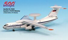 Aeroflot Russia RA-76453 IL-76 Airplane Miniature Model Metal Die-Cast 1:500 Par