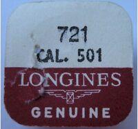 Watch Part 721 Balance Wheel Longines 501 Seal Open