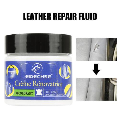 Worn Car Seat Sofa Leather Repair Cream Color Paste Dye Colour Restorer Renew U=