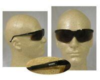 Uvex Genesis Safety Glasses Black Frame With Espresso Lens