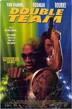 DOUBLE TEAM Movie POSTER 27x40 C Jean-Claude Van Damme Dennis Rodman Mickey