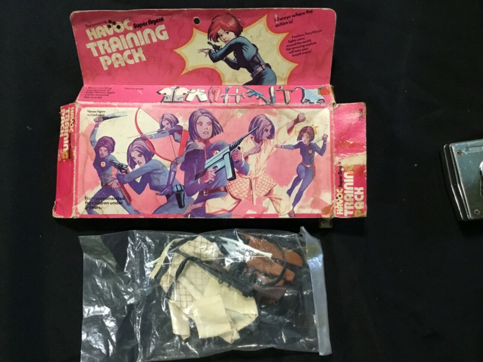 Super Agent Havoc doll training pack