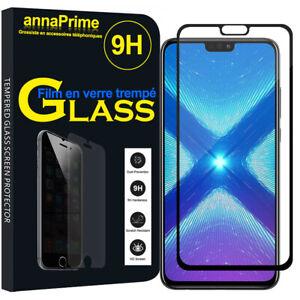 Vitre-Film-Verre-Trempe-Protecteur-d-039-ecran-pour-Huawei-Honor-8X-6-5-034