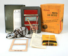 KODAK ABC PHOTO LAB OUTFIT W/GRADUATE,THERM., MANUAL, AND MORE