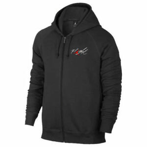 36a87c57343224 Nike Mens Size 2XL Air Jordan Flight Full Zip Hoodie Fleece Jacket ...