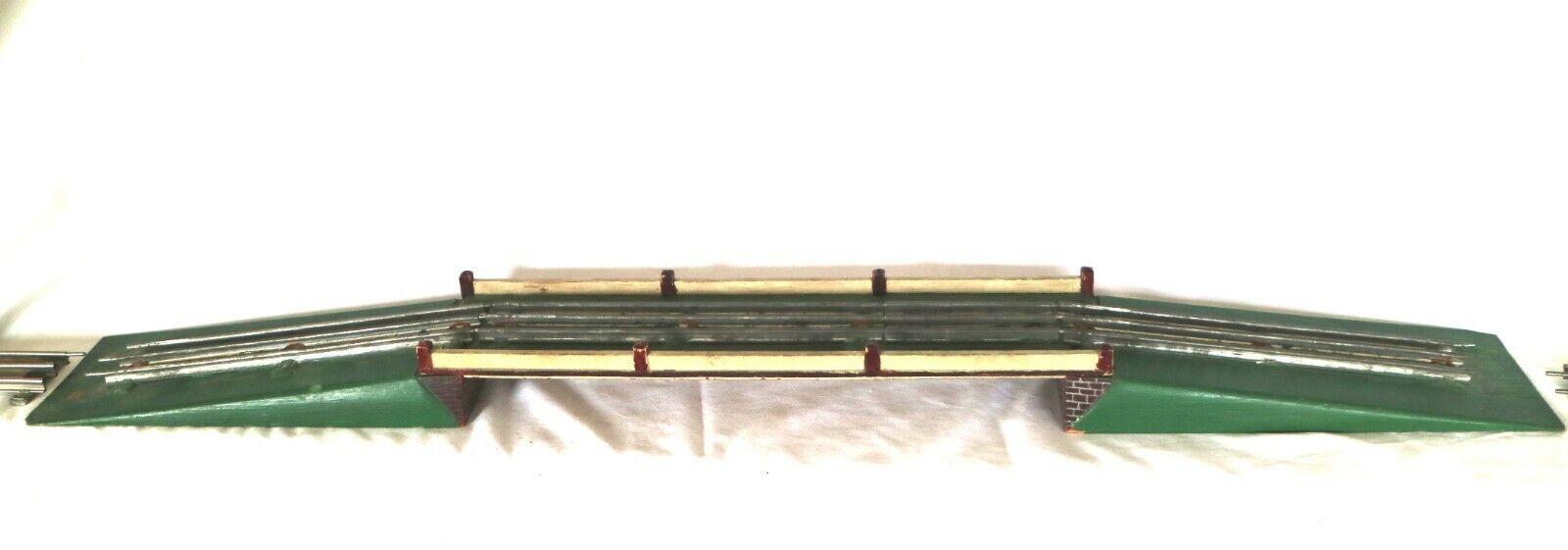 804J  Vintage Scratch Built O Gauge 3 Rail Viaduct   Bridge