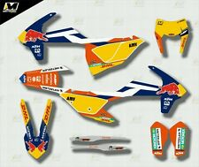 2017 KTM EXC all models GRAPHICS KIT MOTOCROSS DECALS