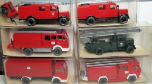 Wiking-1-87-utilisation-vehicules-neuf-dans-sa-boite-pour-selectionner-Pompiers-THW-Police-RDC