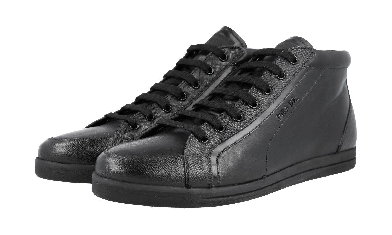 zapatos PRADA SAFFIANO LUXUEUX negro 3T5893  NOUVEAUX 40,5 41 41 41 UK 7.5  gran descuento